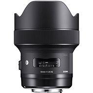 SIGMA 14 mm F1.8 DG HSM ART pre Canon - Objektív