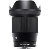 Sigma 16 mm f/1,4 DC DN pre Olympus/Panasonic (rad Contemporary)