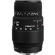 SIGMA 70–300 mm f/4,0–5,6 DG MACRO pro Pentax - Objektív