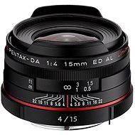 PENTAX HD DA 15 mm f/4 ED AL Limited. Black - Objektív