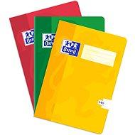 """Oxford A5 """"540"""" čistý 40 listov – súprava 3 ks - Zošit"""