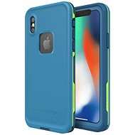 LifeProof Fre pre iPhone X – modré - Puzdro na mobil