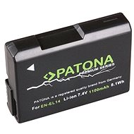 PATONA pre Nikon EN-EL14, 1 050 mAh Li-Ion Premium - Batéria do fotoaparátu
