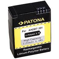 PATONA pre GoPro HD Hero 3 1180 mAh Li-Ion - Batéria do fotoaparátu
