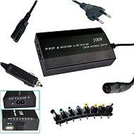 PATONA k ntb/100 W na 240 V/12 V – 24 V/USB/8 konektorov/univerzálny/do siete aj auta - Napájací adaptér