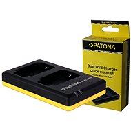 PATONA Foto Dual Quick Panasonic DMW-BCM13 - Nabíjačka