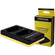 PATONA Foto Dual Quick Panasonic DMW-BLC12 - Nabíjačka
