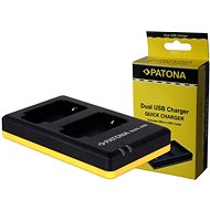 PATONA Foto Dual Quick Panasonic DMW-BLF19 - Nabíjačka