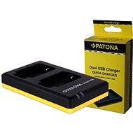 PATONA Foto Dual Quick Sony NP-BX1 - Nabíjačka