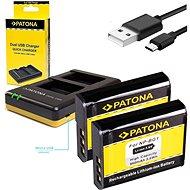 PATONA Foto Dual Quick Sony NP-BG1 + 2× batéria 960 mAh - Nabíjačka akumulátorov