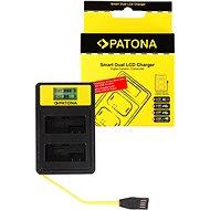 PATONA pre Dual Canon LP-E8 s LCD, USB - Nabíjačka akumulátorov
