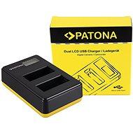 PATONA pre Foto Dual LCD Canon LP-E17, USB - Nabíjačka akumulátorov