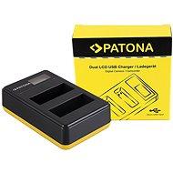 PATONA pre Foto Dual LCD Nikon EN-EL14, USB - Nabíjačka akumulátorov