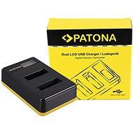 PATONA pre Foto Dual LCD Sony NP-BX1, USB - Nabíjačka akumulátorov