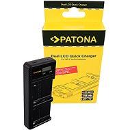 PATONA pre Foto Dual LCD Sony F550/F750/F970 – USB - Nabíjačka akumulátorov
