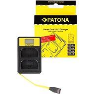 PATONA pre Dual Canon LP-E6 s LCD,USB - Nabíjačka akumulátorov