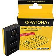 PATONA pre Dual GoPro MAX s LCD - Nabíjačka akumulátorov