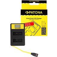 PATONA pre Dual Olympus PS-BLS1 s LCD, USB - Nabíjačka akumulátorov