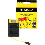 PATONA pre Dual Nikon EN-EL14 s LCD,USB