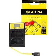 PATONA pre Dual Nikon EN-EL15 s LCD,USB