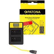 PATONA pre Dual Panasonic DMW-BLC12 E s LCD,USB