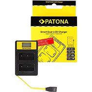 PATONA pre Dual Fuji NP-W126 s LCD,USB