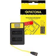 PATONA pre Dual Panasonic DMW-BLG10 s LCD,USB