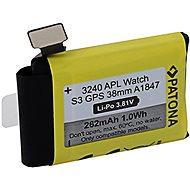 PATONA pre Apple Watch 3 GPS 262 mAh A1847 38 mm - Batéria do inteligentných hodiniek
