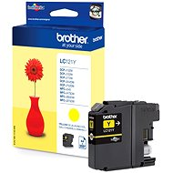 Brother LC-121Y - Cartridge