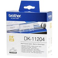 Brother DK-11204 - Papierové štítky