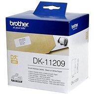 Brother DK-11209 - Papierové štítky
