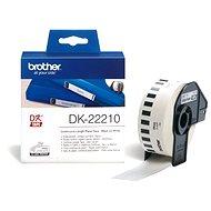 Brother DK 22210 - Papierové štítky