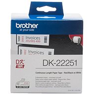 Brother DK 22251 - Papierové štítky