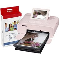 Canon SELPHY CP1300 ružová + papier KP-36