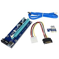 Redukcia PCIe x16 na PCIe x1 (PCIe riser) - Redukcia