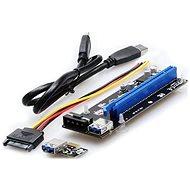 UNIBOS PCIe ×16 až PCIe ×1 (PCIe riser) - Redukcia