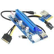 ANPIX ver009s redukce PCIe x1 na PCIe x16 (PCIe riser) - Redukcia