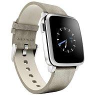 Pebble Time Steel SmartWatch strieborné - Smart hodinky