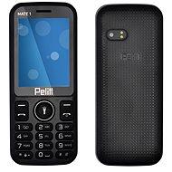 Pelitt Mate1 čierna - Mobilný telefón