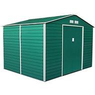 G21 GAH 529 – 277 × 191 cm, zelený - Záhradný domček