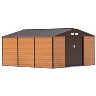 G21 GAH 1300 - 340 × 382 cm, hnedý - Záhradný domček