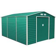 G21 GAH 1300 - 340 × 382 cm, zelený - Záhradný domček