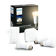 Philips Hue White 9 W E27 starter kit - LED žiarovka