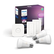 Philips Hue White and Color ambiance 9 W E27 starter kit - LED žiarovka