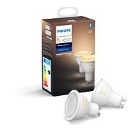 Philips Hue White Ambiance 5,5 W GU10 sada 2 ks - LED žiarovka