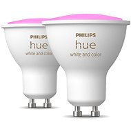 Philips Hue White and Color ambiance 5.7W GU10 Set,  2pcs - LED Bulb