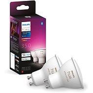 Philips Hue White and Color ambiance 5,7 W GU10 sada 2 ks - LED žiarovka