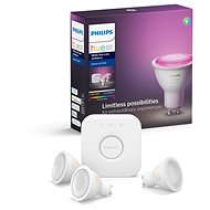 Philips Hue White and Color ambiance 5,7 W GU10 starter kit