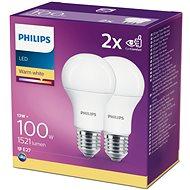 Philips LED 13-100W, E27 2700K, 2ks - LED žiarovka