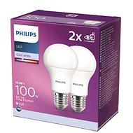 Philips LED 12,5 – 100W, E27 4000 K, 2 ks - LED žiarovka